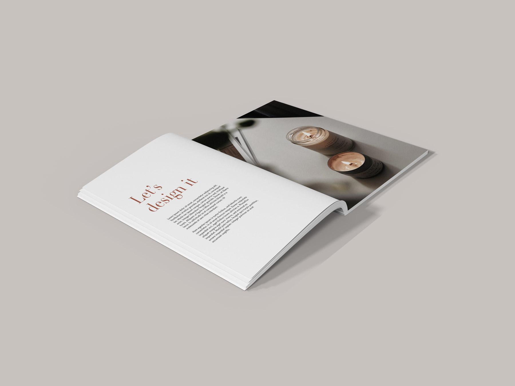 PSD Magazine Mockups