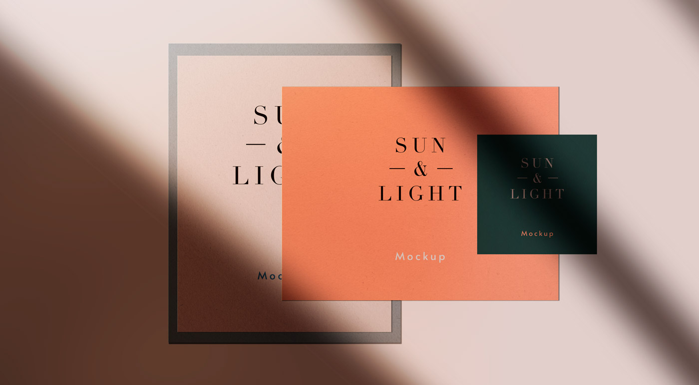 Sun And Light – Stationery Mockups