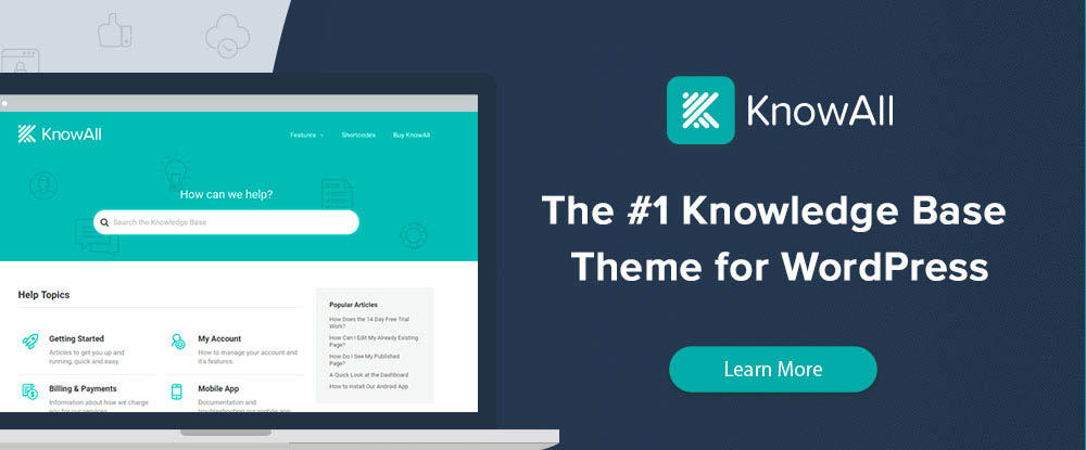 KnowAll – Knowledge Base Theme