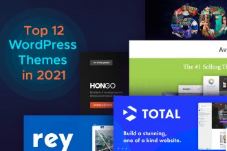 Create better projects with these Top 12 WordPress Themes in 2021