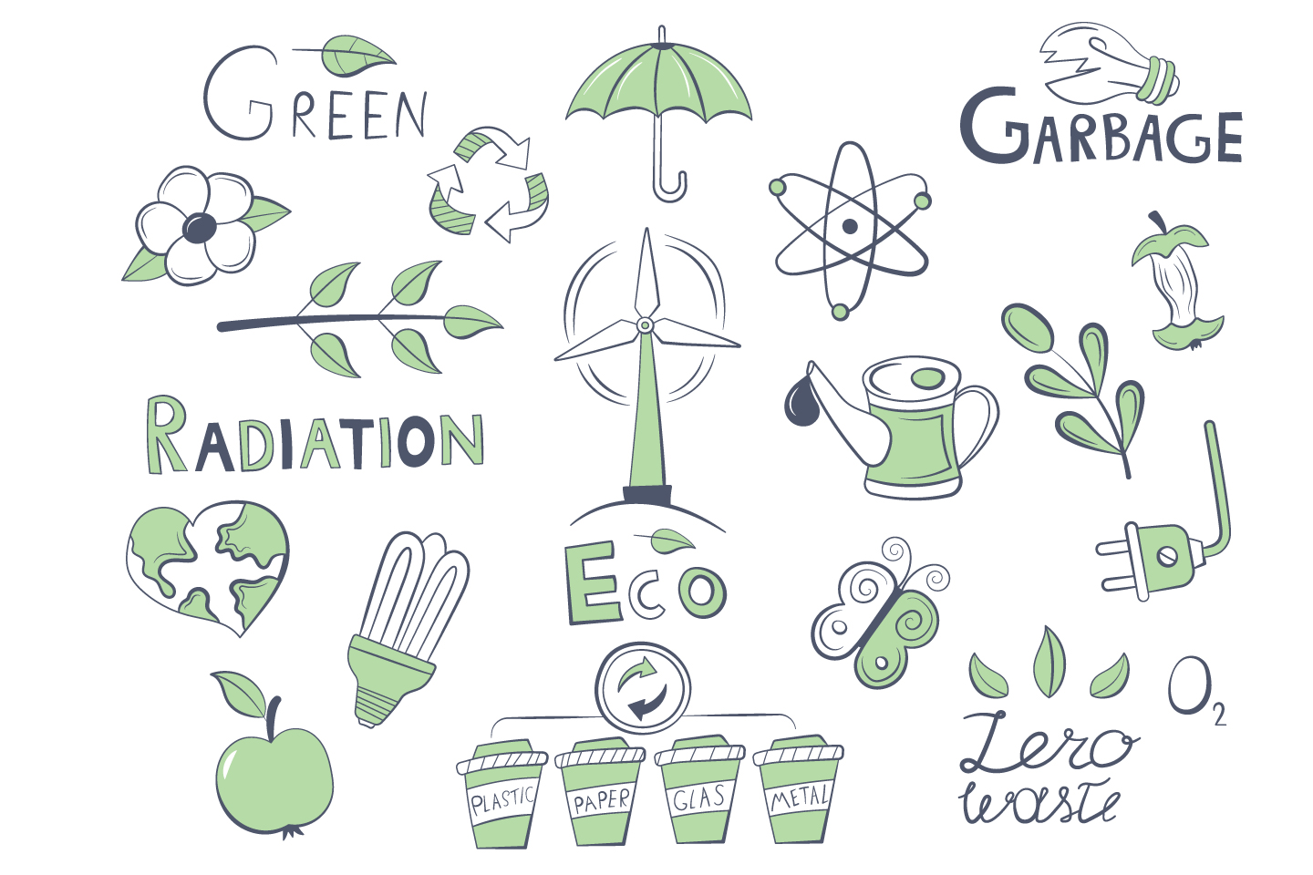A Collection of Various Objects on the Theme of Ecology