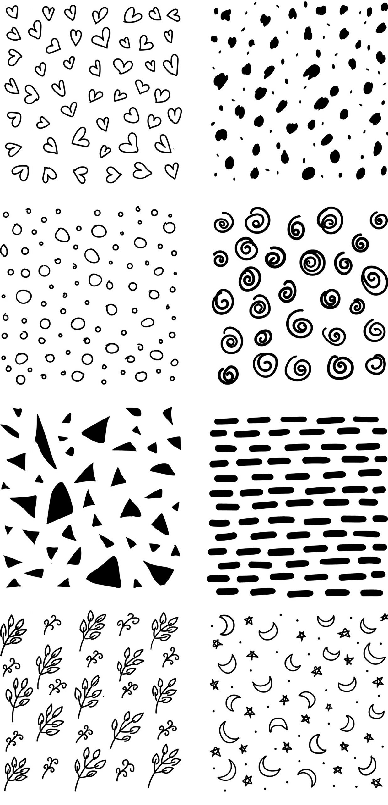 Handdrawn Abstract Patterns