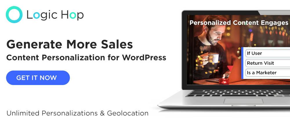 Logic Hop – Content Personalization for WordPress