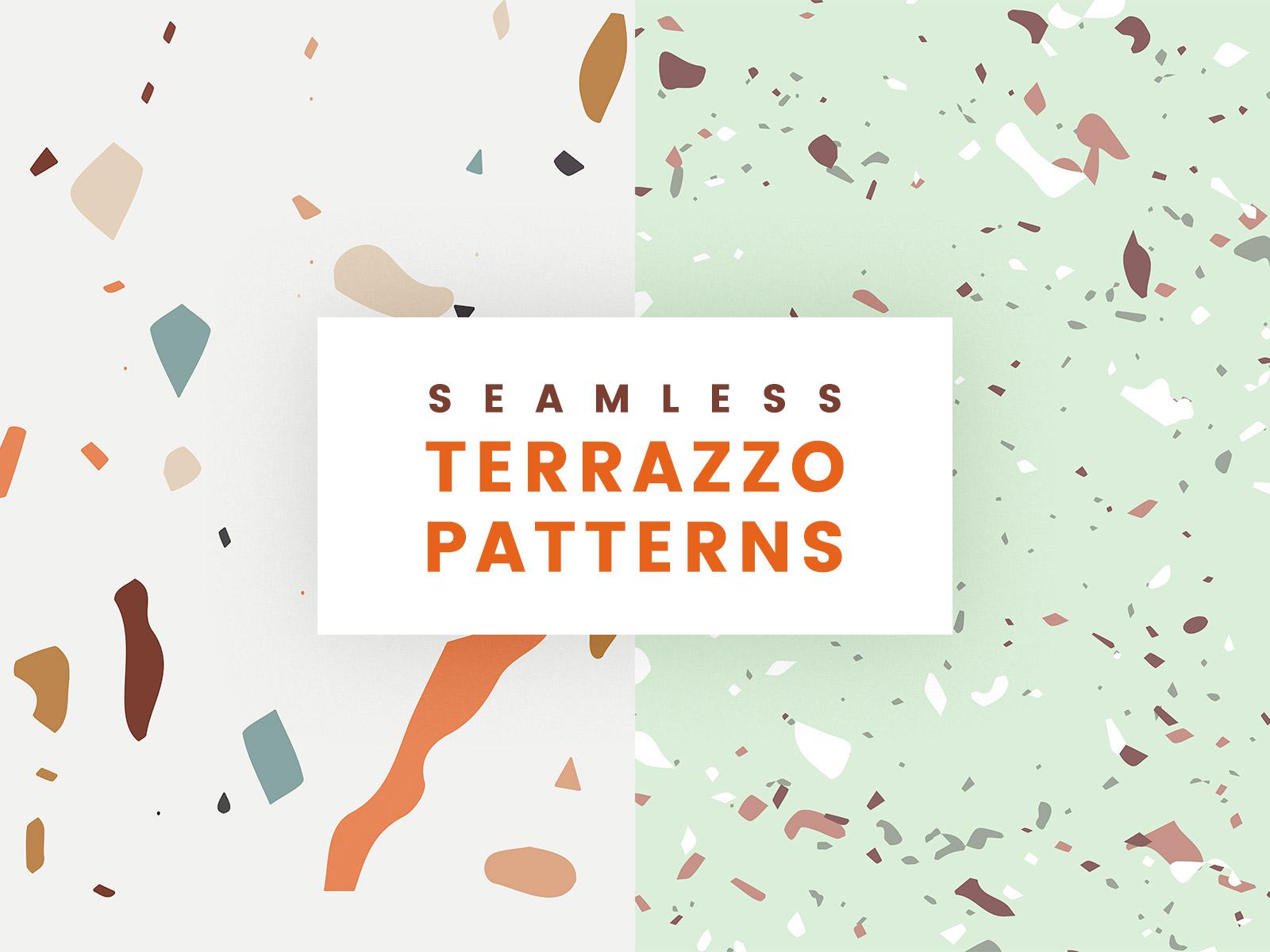 Seamless Terrazzo Patterns
