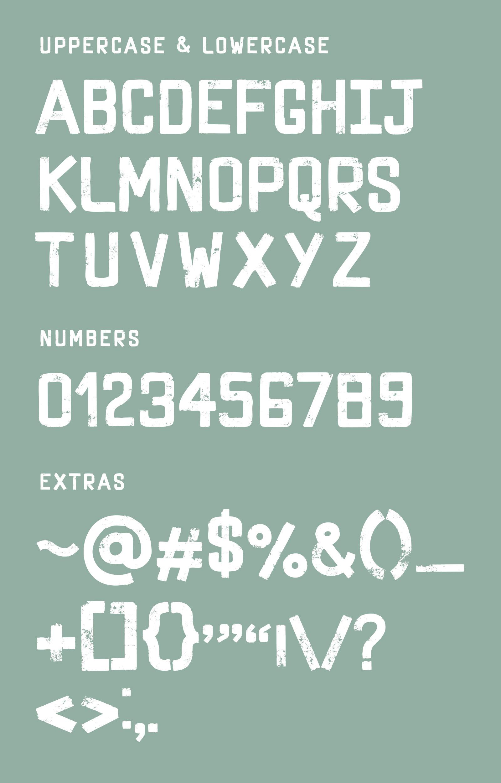 Grungica Display Font