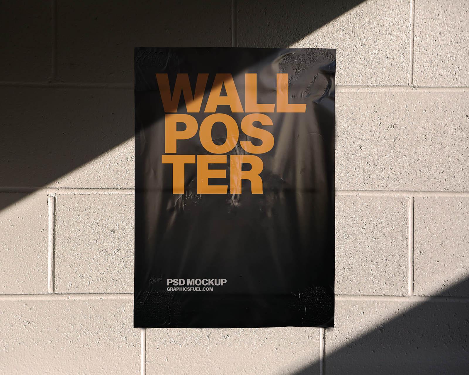 Wall Poster Mockup Templates