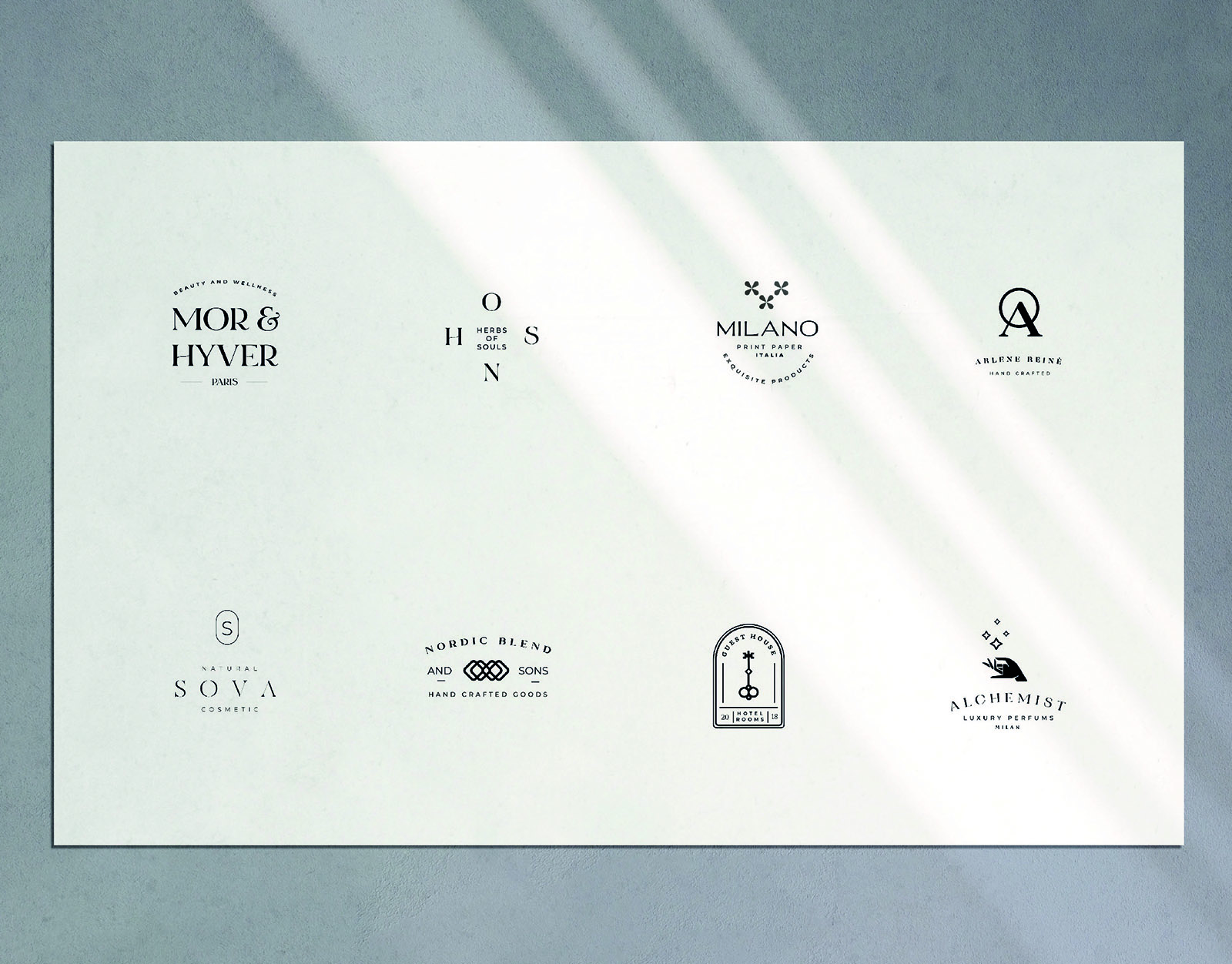 Magnifica Logo Templates Pack