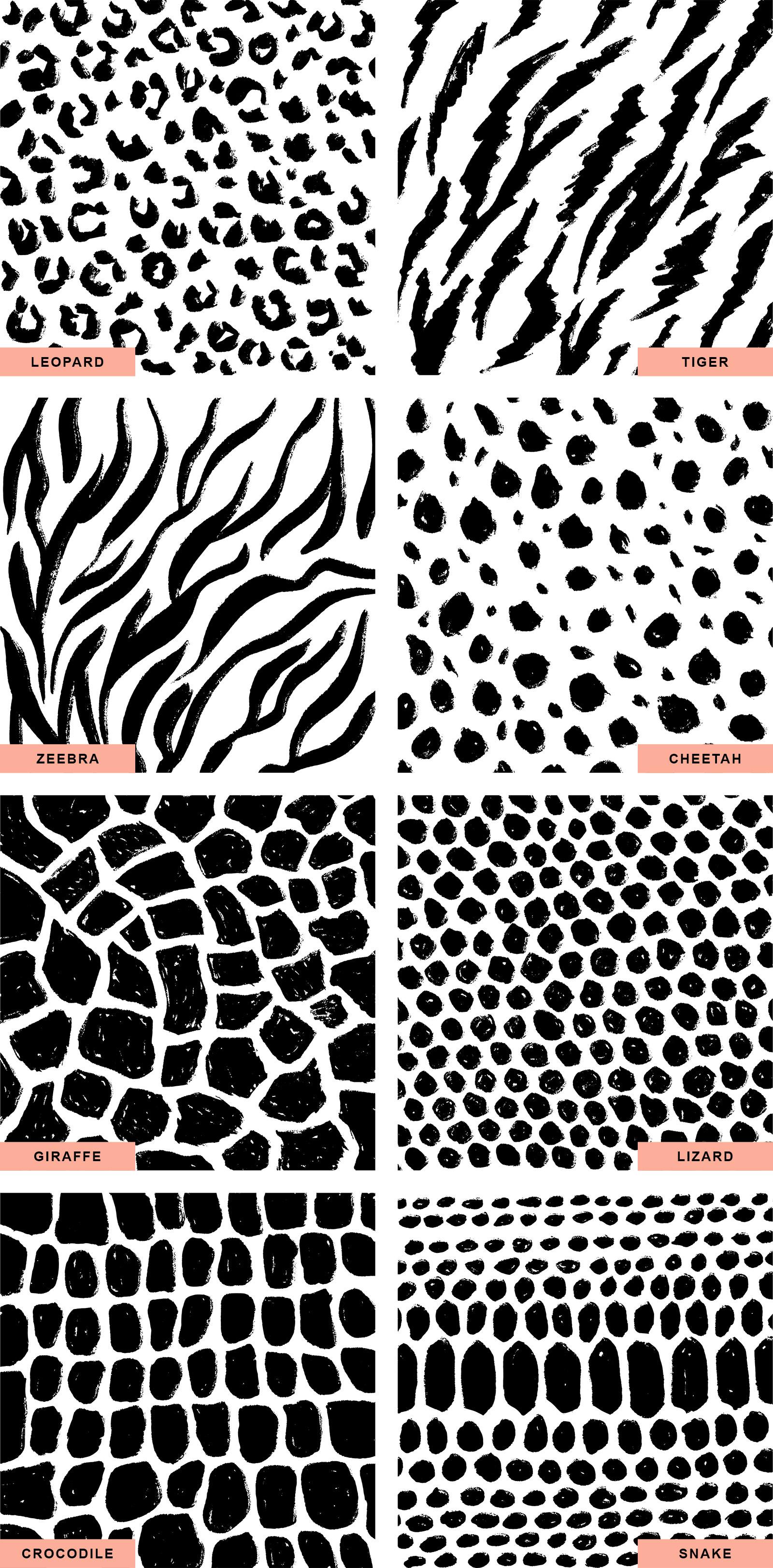 Animal Skin Print Patterns
