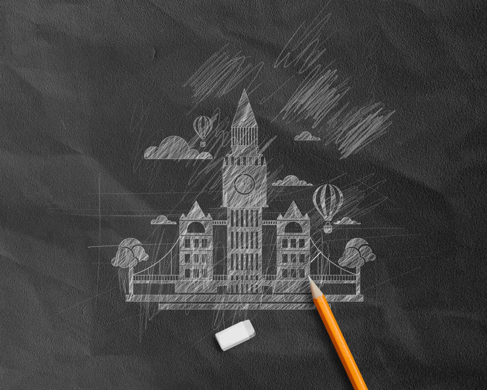 Photoshop Pencil Sketch Effect
