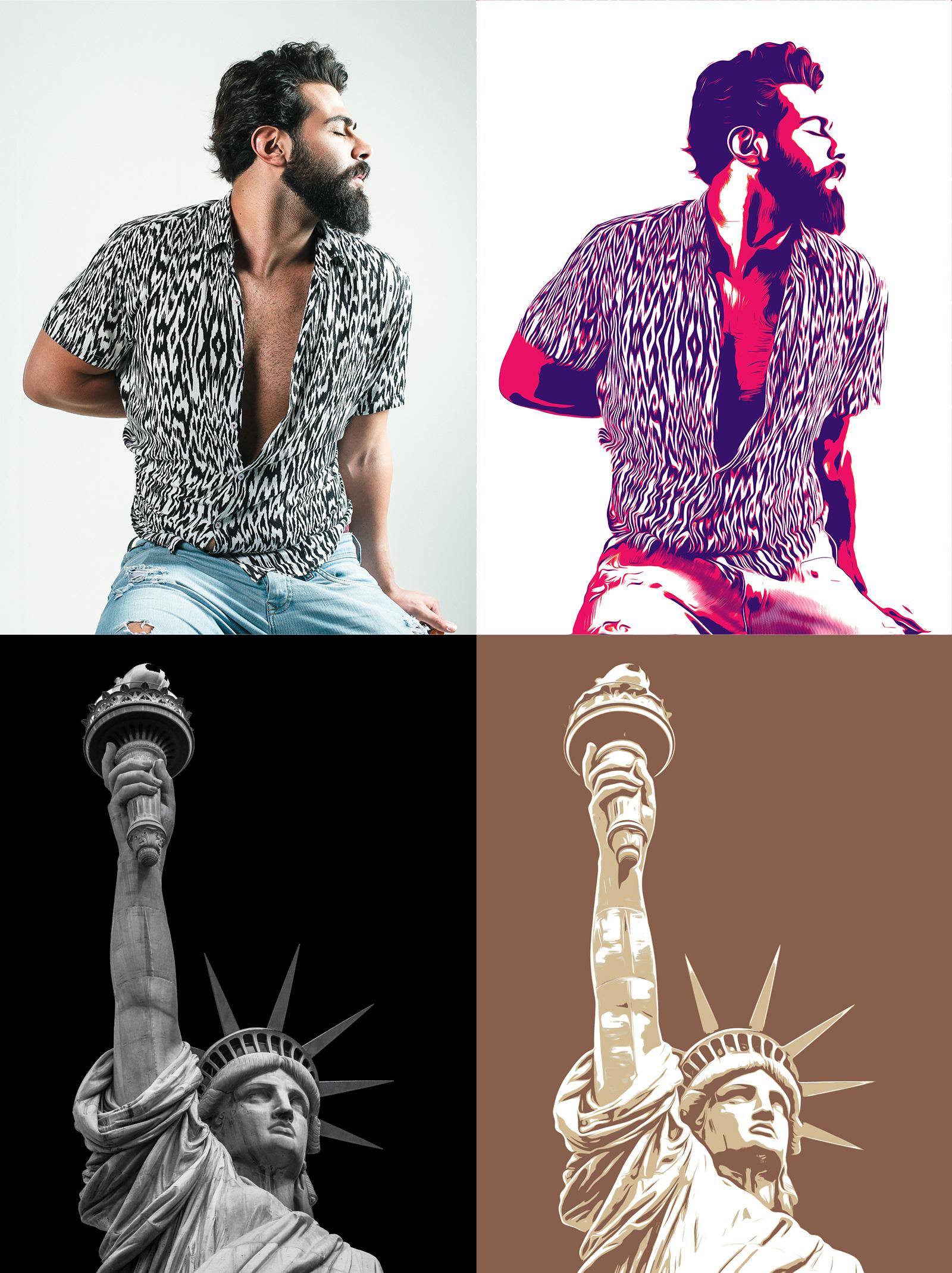 Vector Illustration Photo Effects