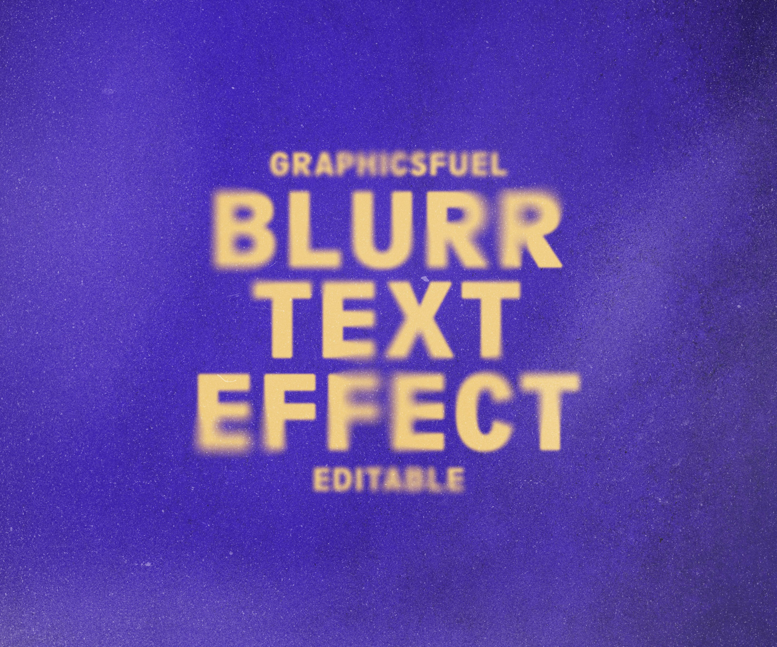 Ghost Blur Text Effect