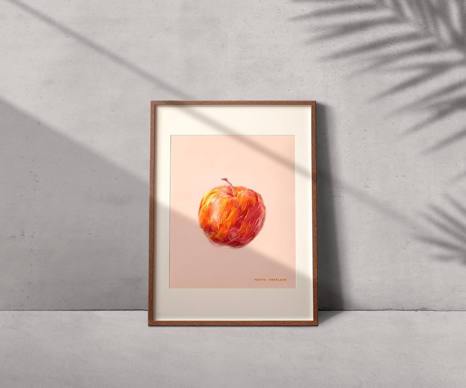 Free Photo Frame Mockup Template
