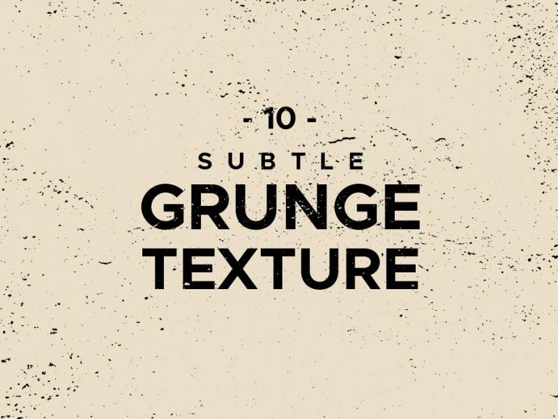 10 Vector Grunge Textures