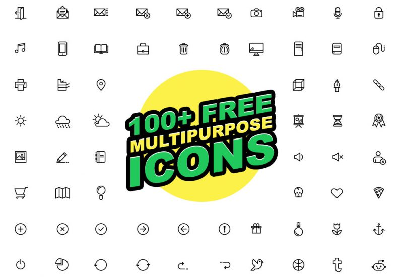 100-free-multipurpose-icons