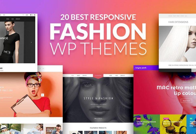 20 Best Fashion WP Theme