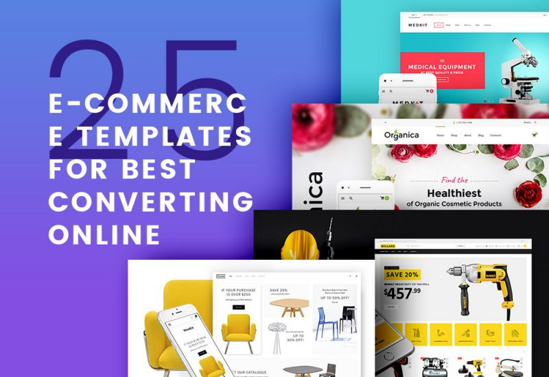 25 Ecommerce Templates For Online Shop