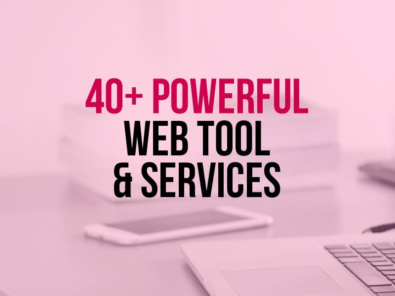 40-Web-Tools-Services