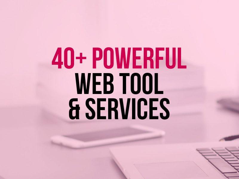 40-Web-Tools-Services