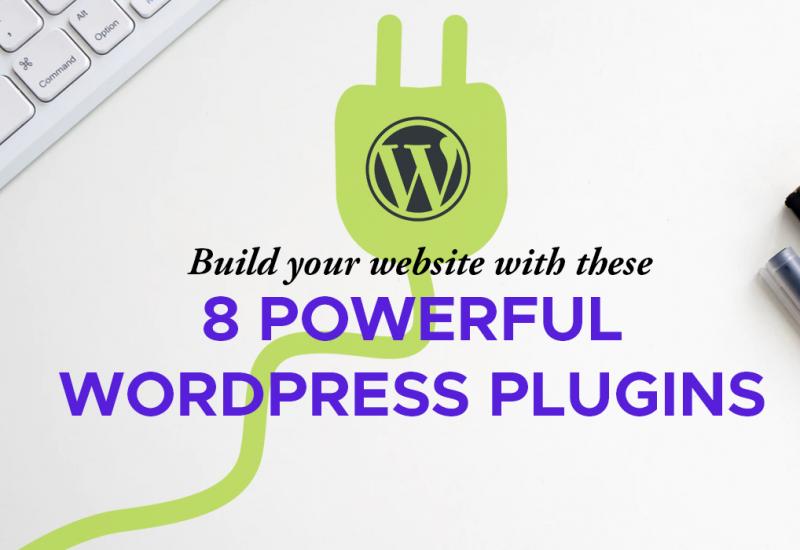 8 Wordpress Plugins