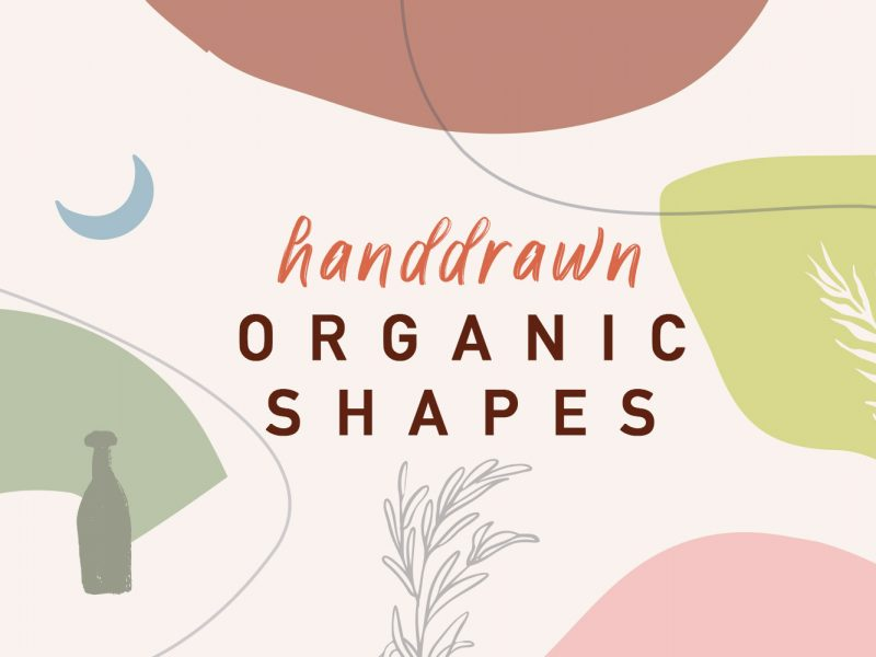 Abstract-Handdrawn-Orgainic-Shapes