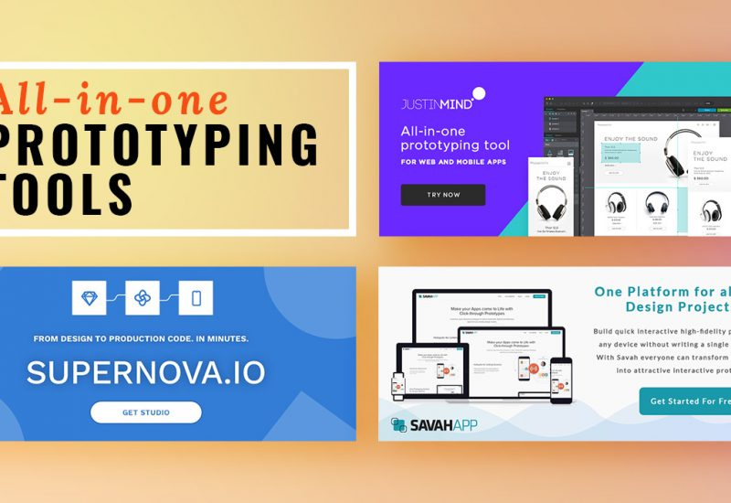 All-in-one Prototyping Tools