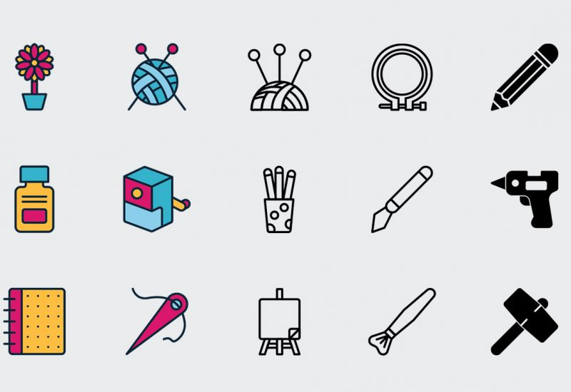 Arts and Crafts Icons