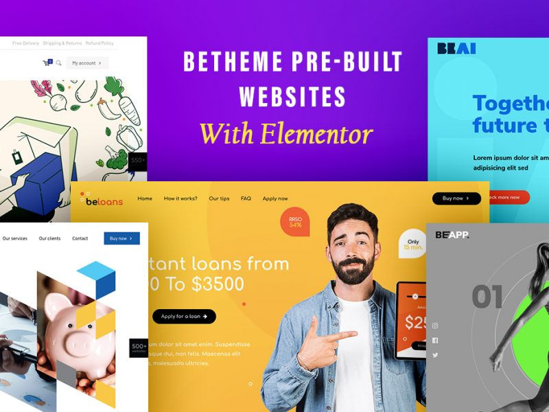 BeTheme Prebuilt Websites With Elementor