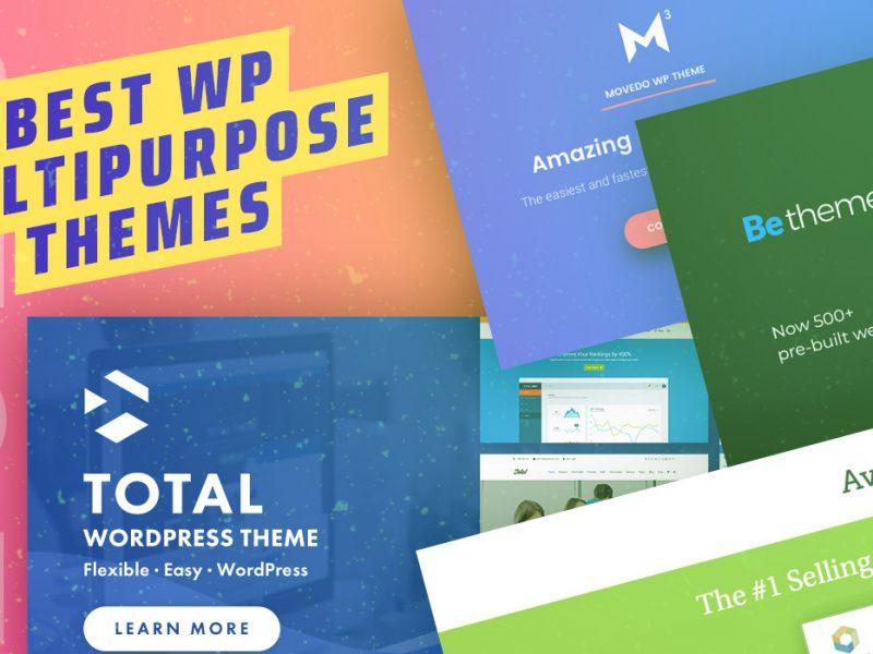 Best WP Multipurpose Themes