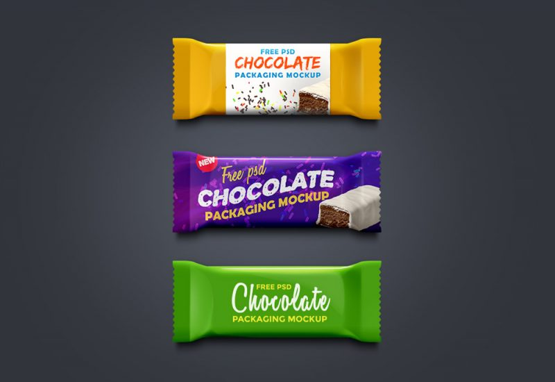 Free Chocolate Packaging Mockup
