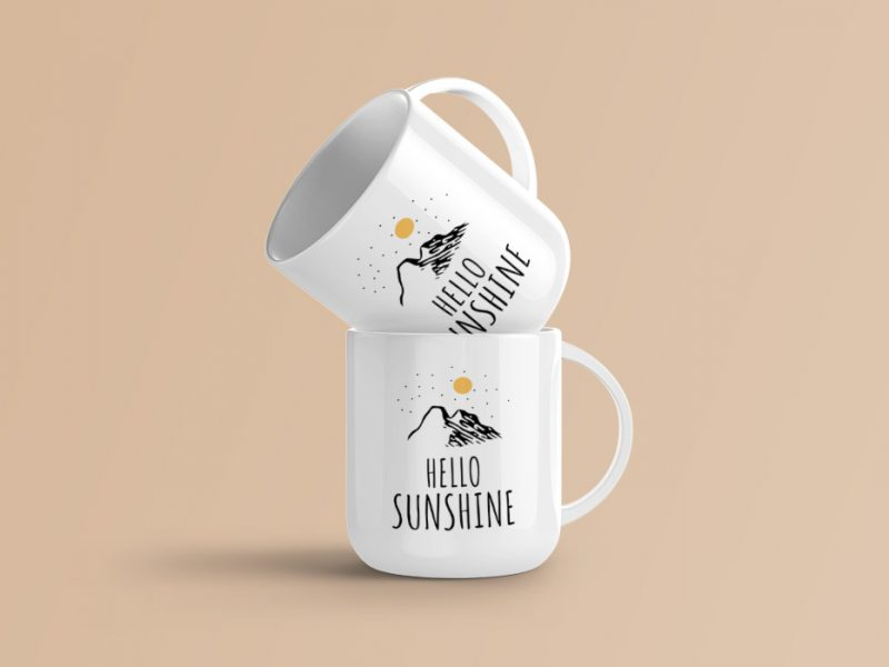 Coffee Mug Mockup PSD Templates