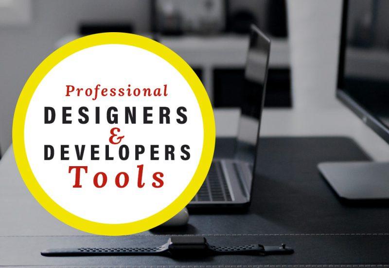 Designers-Developers-Tools