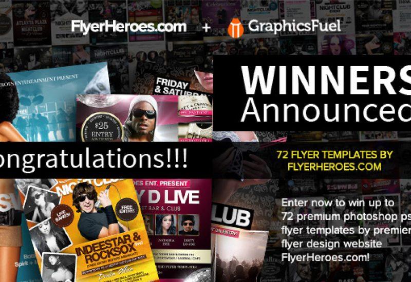 Flyers-giveaway-winners