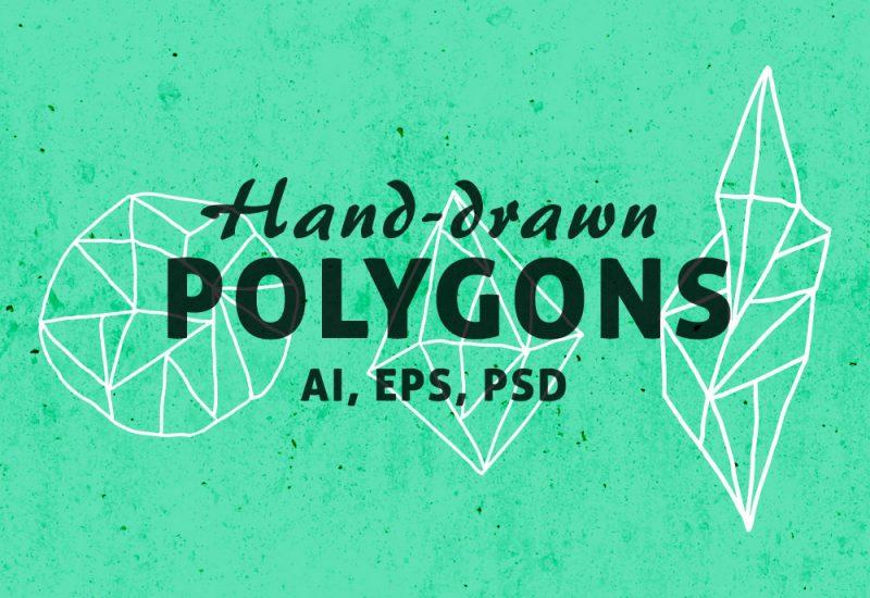 Free Geometric Polygon Shapes