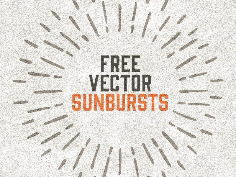 Free-Vector-Sunbursts