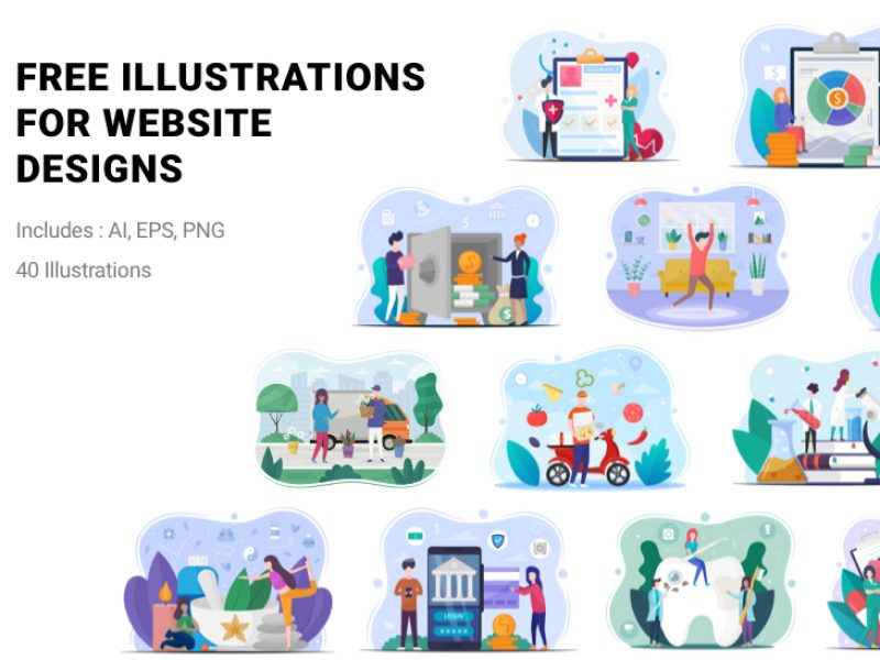 FreeIllustrationsWebSiteDesigns