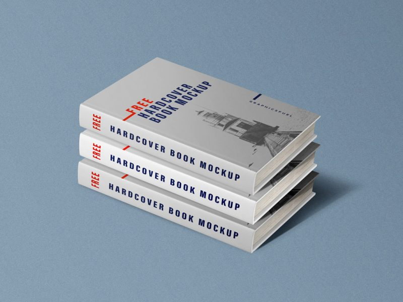 Hardcover Book Mockup PSD Templates