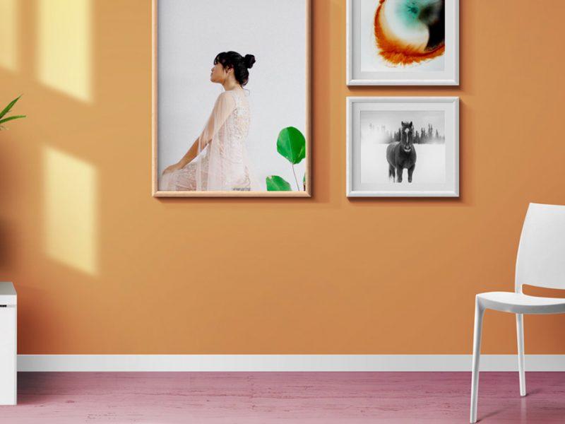 Interior Photo Frames & Poster Mockups