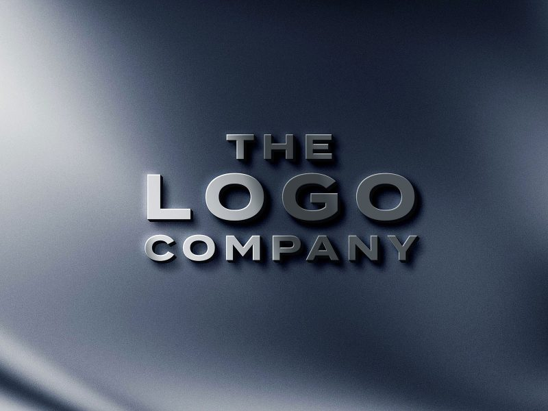 Metal-Logo-Mockup-PSD-Template