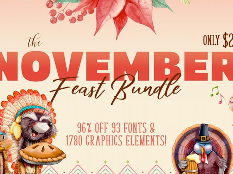 November Fonts & Design Bundle
