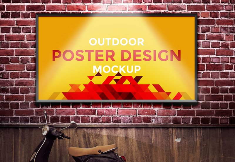 Outdoor Poster Design Mockup
