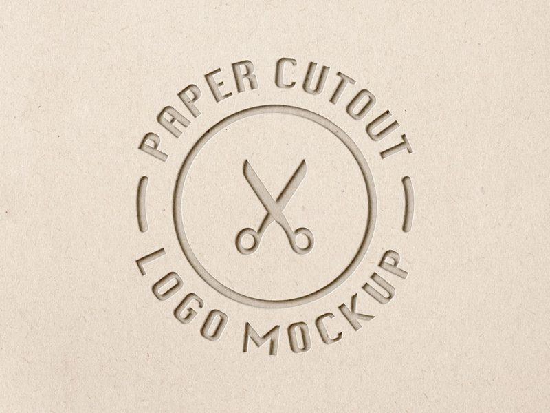 Paper-Cut-Logo-Mockup