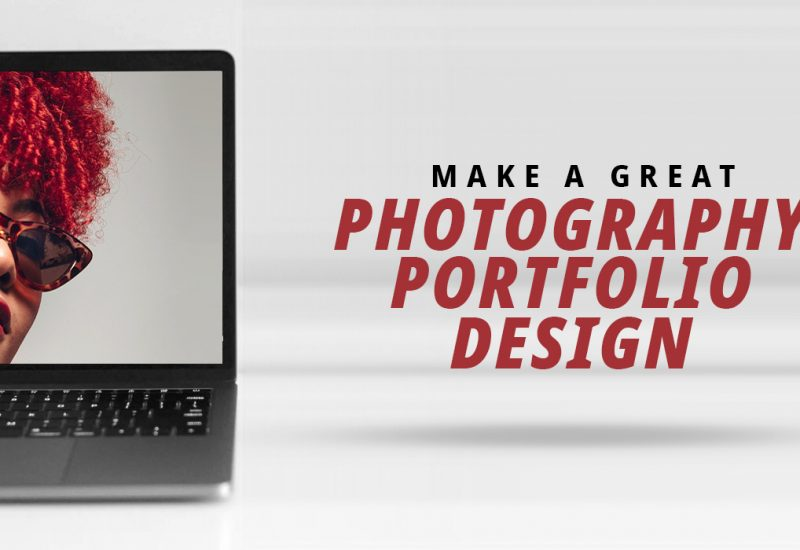 Photography Portfolio Design Website