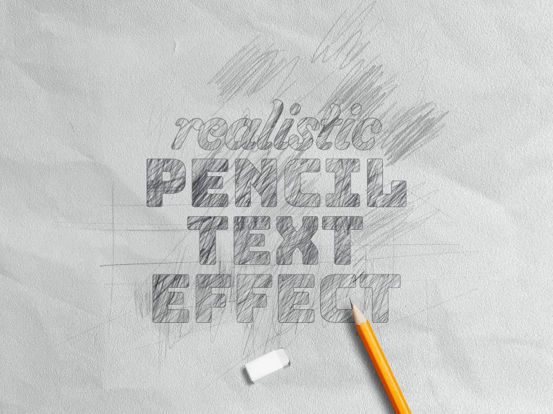 Photoshop Pencil Sketch Effects