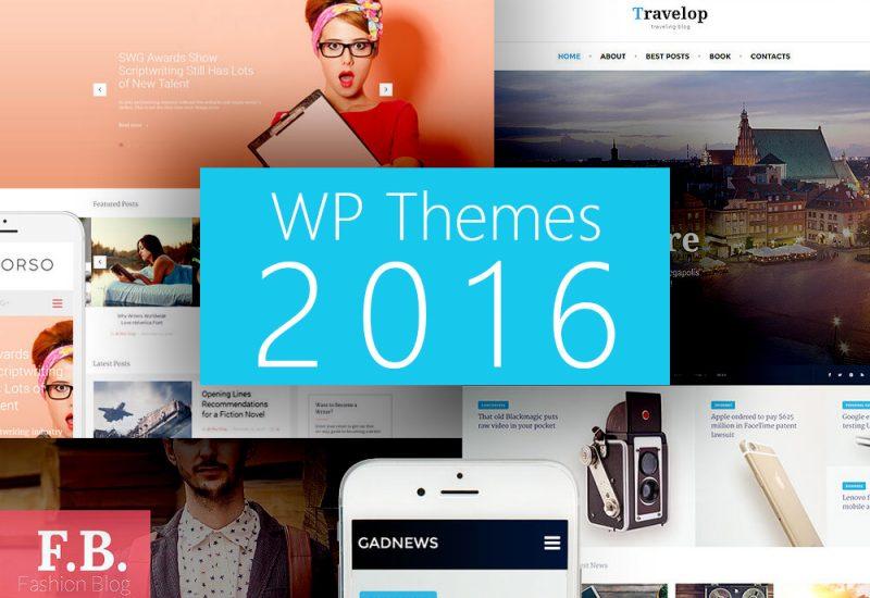 Premium WP Themes 2016