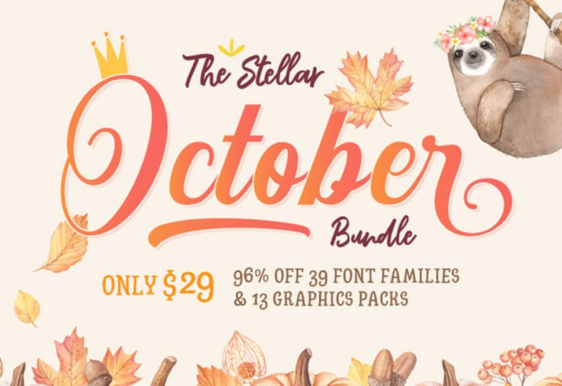 Stellar-October-Fonts-Design-Bundle