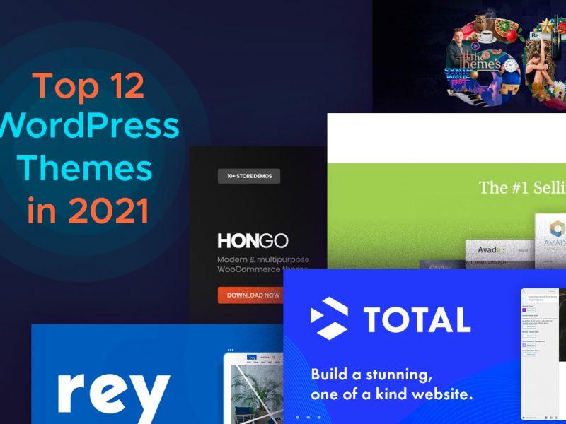 Top 12 WordPress Themes in 2021