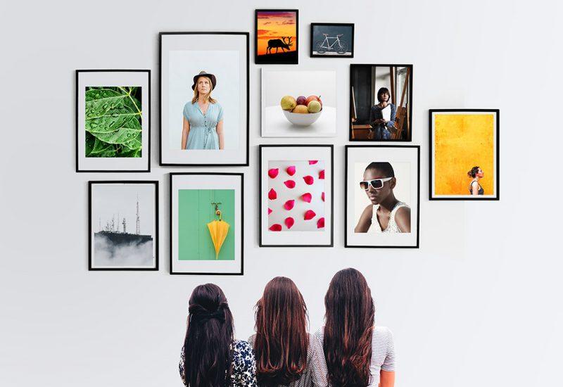 Wall Frames Gallery Mockup