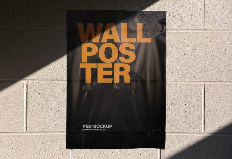 Wall-Poster-Mockup-Templates