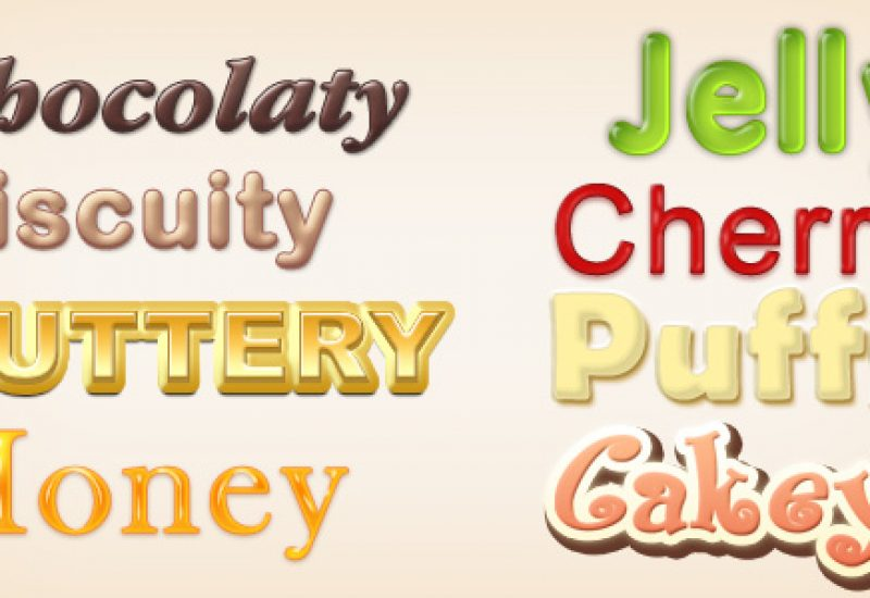 bakery-text-effects