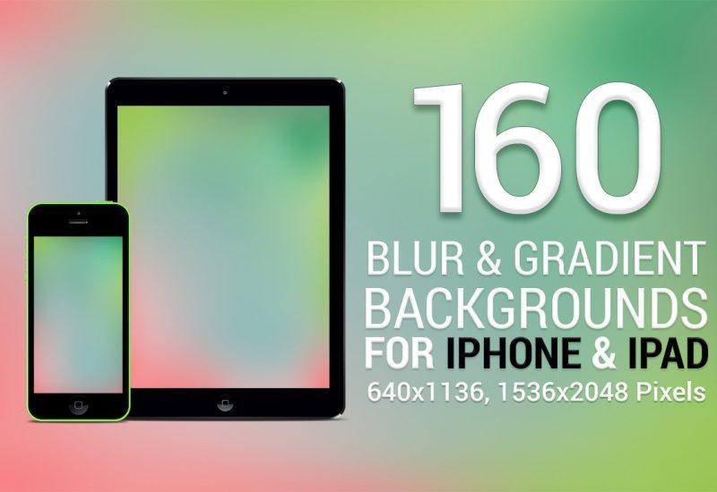 Blur & Gradient Backgrounds